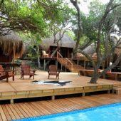 Machangulo Beach Lodge Pool area