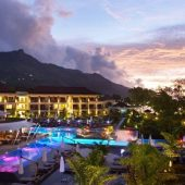 Savoy Resort evening view