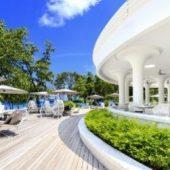 Savoy deck area