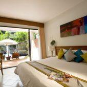 Sunset Beach Resort pool access rooms