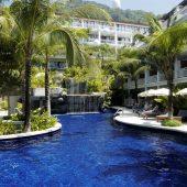 Sunset Beach Resort pool rooms