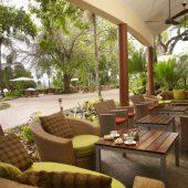 Sabi River Sun outside lounge area