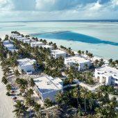 Riu Atoll Aerial view