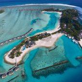 Cinnamon Dhonveli Aerial View