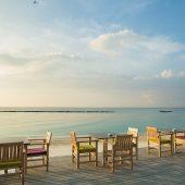 Cinnamon Dhonveli Maldives Deck View