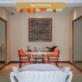 spa entrance